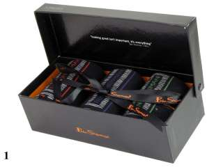 Mens Ben Sherman Socks 3 Pack Gift Boxed Set Black Choice Of 4 Styles