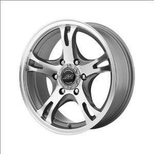 American Racing AR898 16x8 Silver Wheel / Rim 5x5 with a 25mm Offset