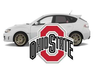 Ohio State Buckeyes Football Vinyl Decal Stickers 5 for cars
