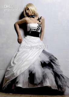 Shoulder Prom ball gown wedding dress Quinceanera dress Formal gowns