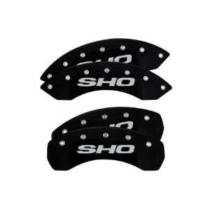 Caliper Covers Ford Taurus 2010 2011 2012 (Licensed Logo, SHO)   Black