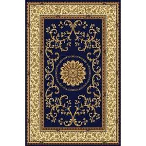 Radici Usa Noble 1419 Navy 22 X 8 Runner Area Rug