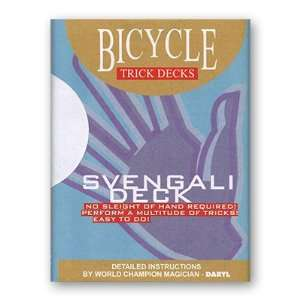 Bicycle Svengali Deck of Trick Cards with Mandolin Backs