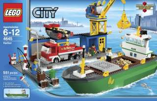 BRAND NEW LEGO City Harbor Harbour 4645   Factory Seal