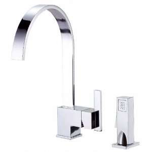 Danze Sirius Single Handle Kitchen Faucet with Spray