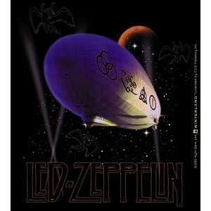 Led Zeppelin Rock Music Band   Purple Blimp   Vinyl Sticker / Decal S
