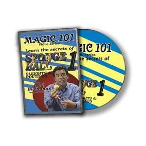 Ball Sleights DVD 101 Magic Trick Close Up Easy