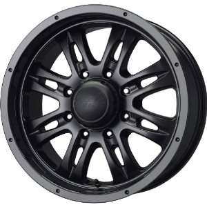 MB Wheels Gunner 8 Matte Black Wheel (18x8.5/8x170mm