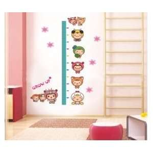 Grow up Growth Chart Measures up to 170cm Wall Sticker Decal for Baby
