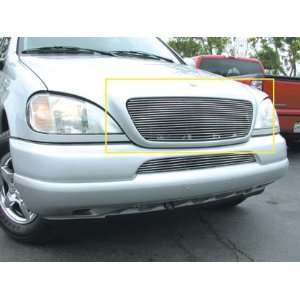 Billet Grille Insert   Horizontal, for the 2000 Mercedes Benz M Class