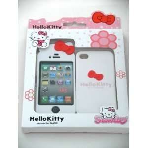 Hello Kitty Hard Case Cover (WHITE)  Front and Back Case Cover