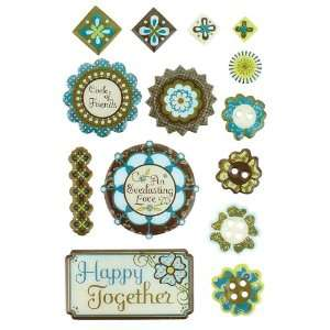 BasicGrey Marjolaine Epoxy Stickers Arts, Crafts & Sewing