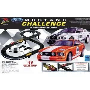 Life Like HO Scale Electric Race Set Ford Mustang Race Set