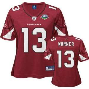 Kurt Warner Red Reebok Super Bowl XLIII Replica Arizona