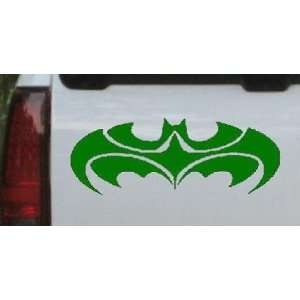 Dark Green 36in X 13.8in    Tribal Batman Car Window Wall Laptop Decal