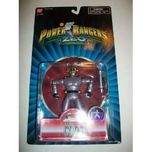 Power Rangers Zeo 1996 Chest Beating Cogs Evil Space Alien