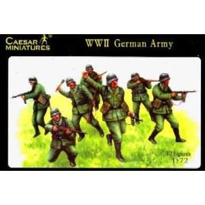 WWII German Army (37) 1 72 Ceasars Miniatures Toys