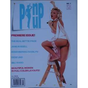 Pin Up Magazine #1 April 1998 Featuring Bettie Page, DeDe Luna, Jane