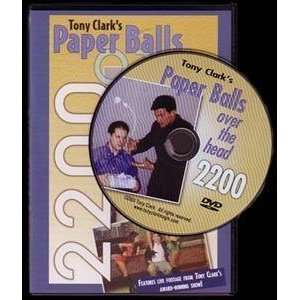 Clark Paper Balls over the Head DVD   Magic Trick Toys & Games