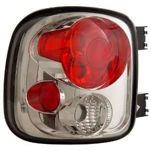 Anzo USA 211026 GMC Sierra Chrome Tail Light Assembly   (Sold in Pairs