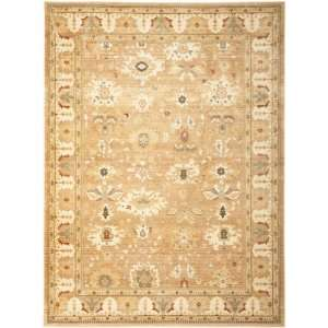 Safavieh Heirloom Collection HLM1741 2424 Light Brown Area Rug, 8 Feet
