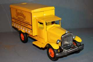 PRESSED STEEL TOY TRUCK, METALCRAFT SUNSHINE BISCUITS, BEAUTIFUL