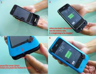 External Power Charger Battery Case Charger for Apple iPhone 3G 3GS