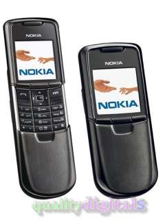 NEW NOKIA 8800 BLACK GSM MOBILE CELL PHONE UNLOCKED 6417182631832