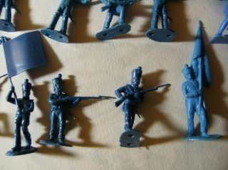 Toy plastic Soldiers. Marx?Civil War?Mexican Army?Arab?Indians? Set 22