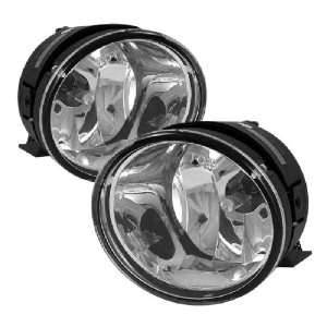 Titan / Armada OEM Style Clear Fog Lights (No Switch) Automotive