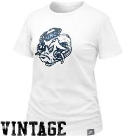 Nike North Carolina Tar Heels (UNC) Ladies White Vault Lived In