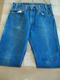 VTG Mens Levis 505 Regular Fit US Made Denim Medium Wash Jeans SZ 32 X