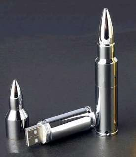 Metal Bullet Shape USB 2.0 Flash Memory Stick Pen Drive PX05
