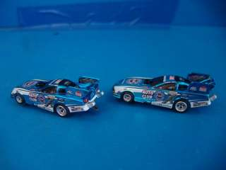 Auto World HO Scale Slot Car Set Champions Challenge Dragcar Dragstrip