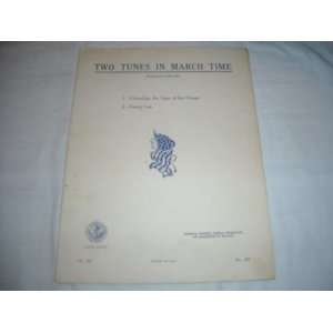 IN MARCH TIME ART PUB SOCIETY 1940 SHEET MUS SHEET MUSIC 267 Music