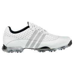 Adidas Mens adiPURE Nuovo White/ Black Golf Shoes
