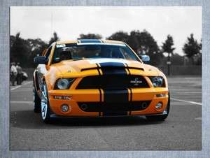 D2480 Ford Mustang Shelby GT 500 Muscle Car 32x24 POSTER