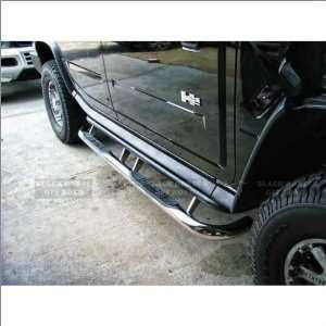 Black Horse Stainless Steel Nerf Bars 03 09 Hummer H2