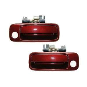 Motorking Toyota Camry Burgandy 3N6 Replacement 2 Outside Door Handles