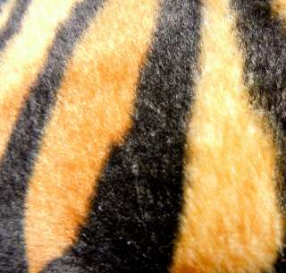 CF16 FAUX FUR TIGER SKIN PILLOW CUSHION COVER*CUSTOM
