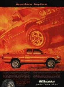 2000 BF Goodrich T/A Tires Toyota Tundra Truck Ad
