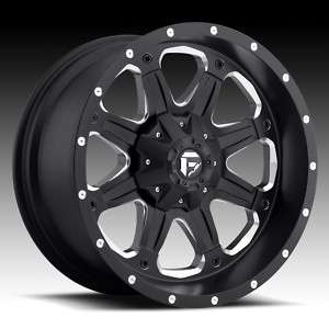 Offroad BOOST 20 inch Black With TIRES Chevy Dodge Ford XD TRUCK RIMS