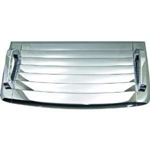 H3 Hummer Chrome ABS Hood Vent Deck Shell MTX 17 560 Automotive