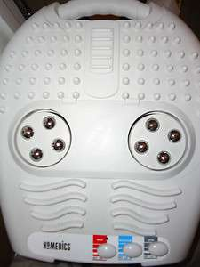 HOMEDICS Foot PLEASER REFLEXOLOGY FOOT MASSAGER/w HEAT, Model FP1000