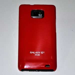 Colorful Red Gloss Hard Case for Samsung Galaxy SII I9100