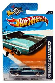 2012 Hot Wheels Muscle Mania Mopar #82 71 Dodge Challenger Hidden