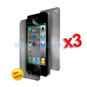 Anti Glare Matte LCD Screen Protector Covers for iPhone 4S 4G 4