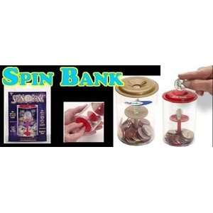 Spin Bank Coins Money Magic Trick Easy Close Up Instant