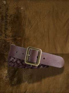 Brett Braided Leather Belt   Denim & Supply Belts   RalphLauren