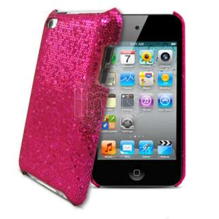 Magic Store   Hot Pink Sparkle Glitter Hard Case Apple Ipod Touch 4